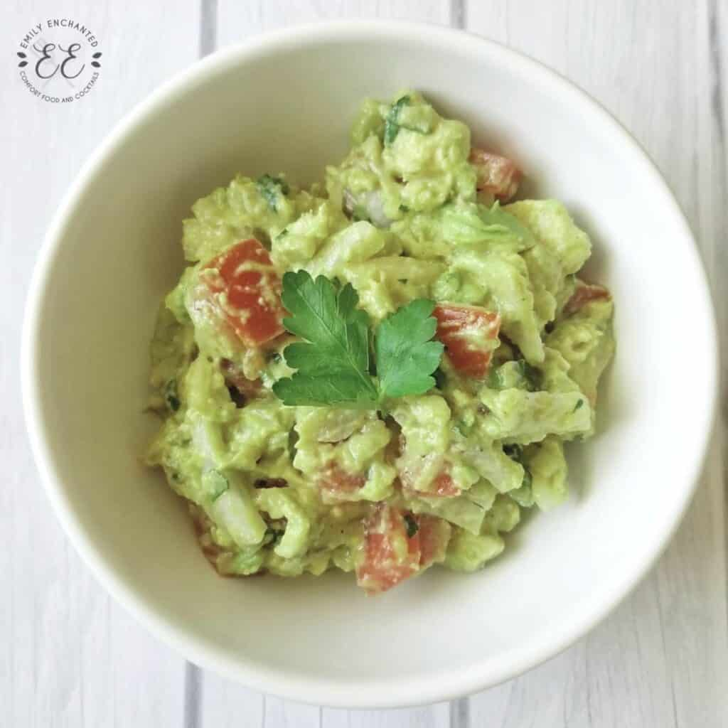 Chunky Homemade Guacamole