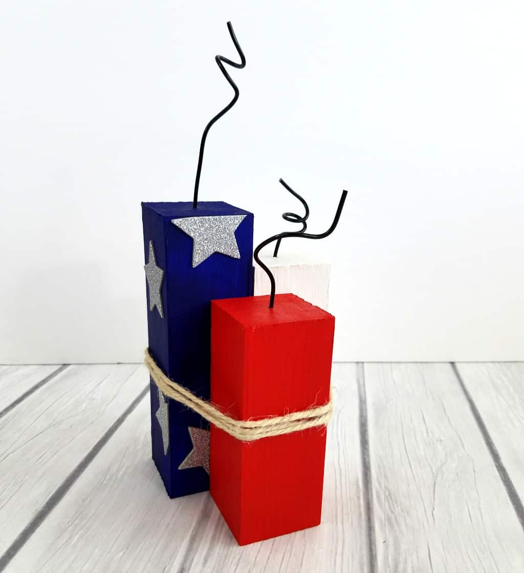 4th of July Firecrackers Craft
