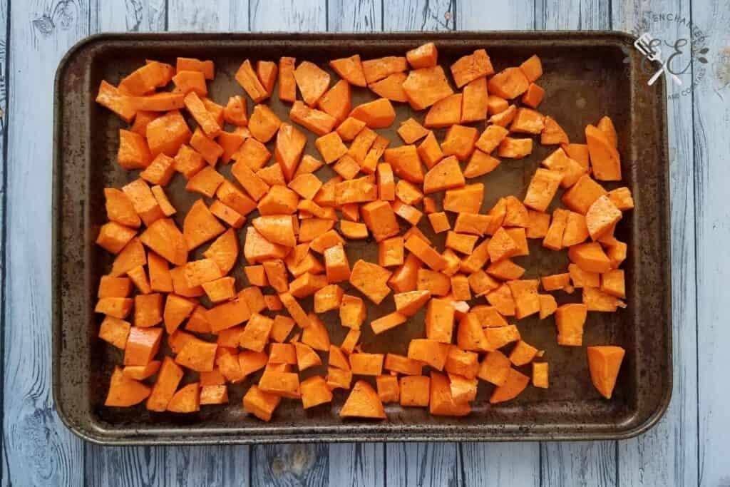 How to Roast Sweet Potato