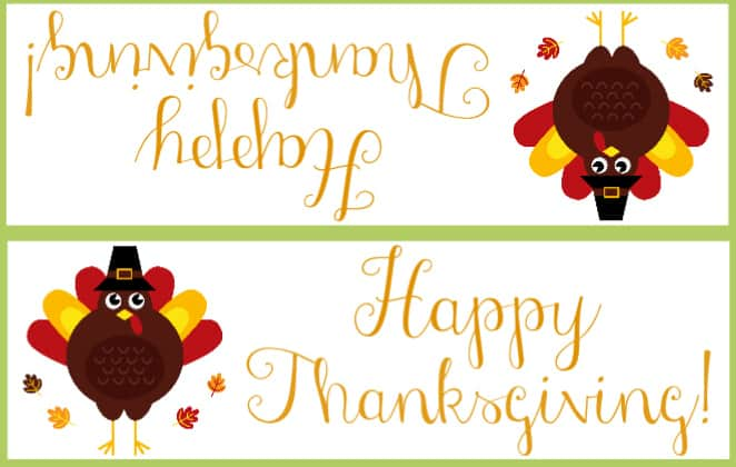 image regarding Thanksgiving Closed Sign Printable known as Totally free Thanksgiving Bag Topper Printables Down load and Print