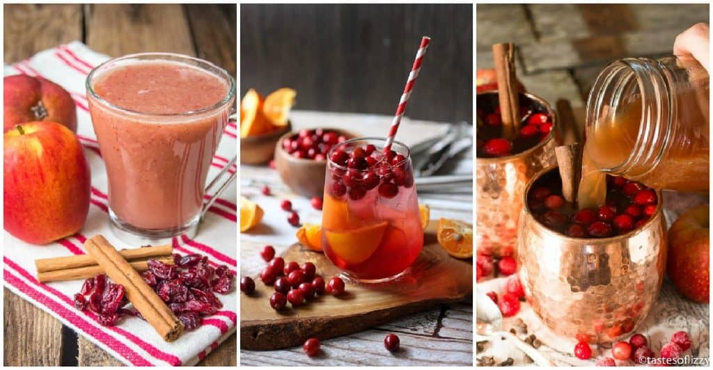 10 Tasty Non-Alcoholic Cranberry Cocktails