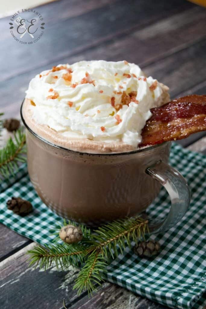 Candied Bacon Hot Chocolate Recipe