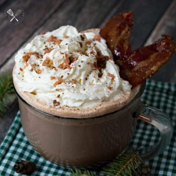 Candied Bacon Hot Chocolate