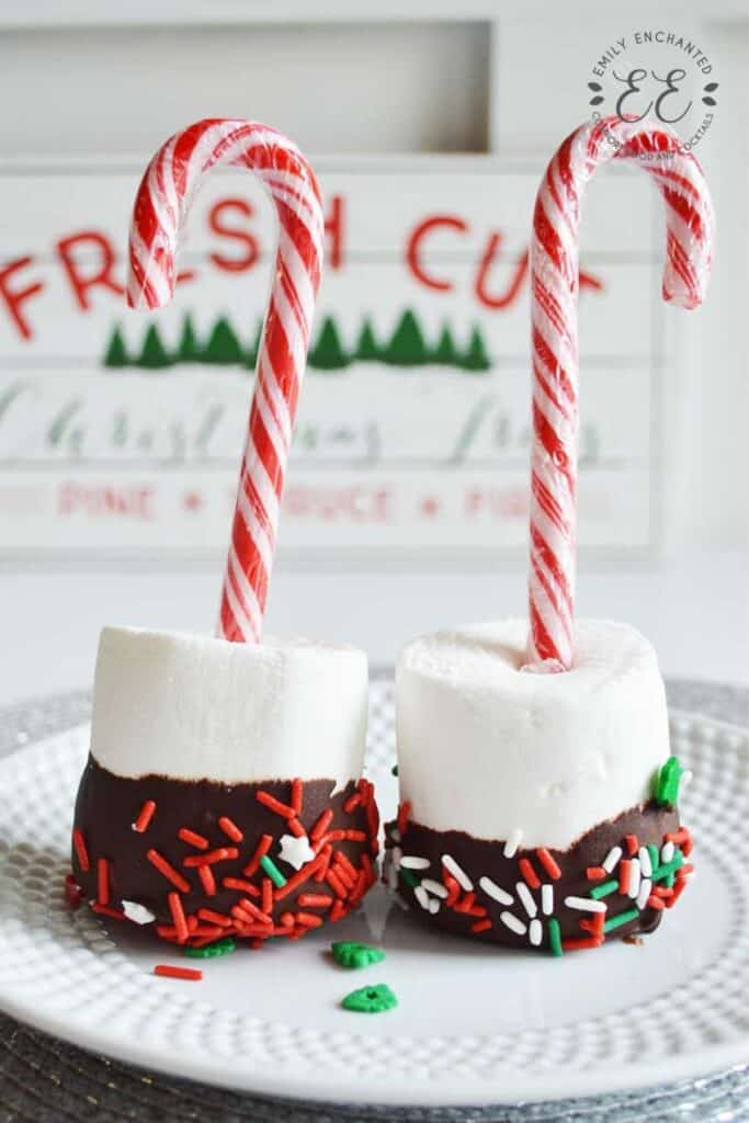 Christmas Marshmallow Pops Recipe for Hot Chocolate