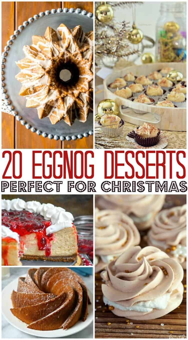 20 Eggnog Desserts Perfect for Christmas
