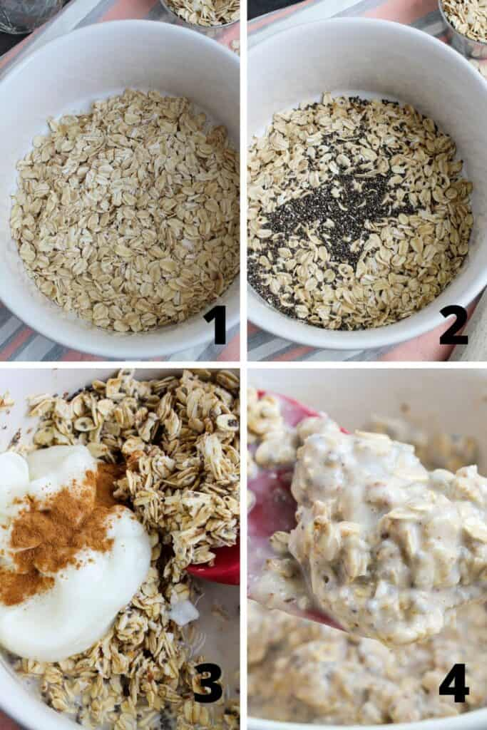 Coconut Overnight Oats Recipe