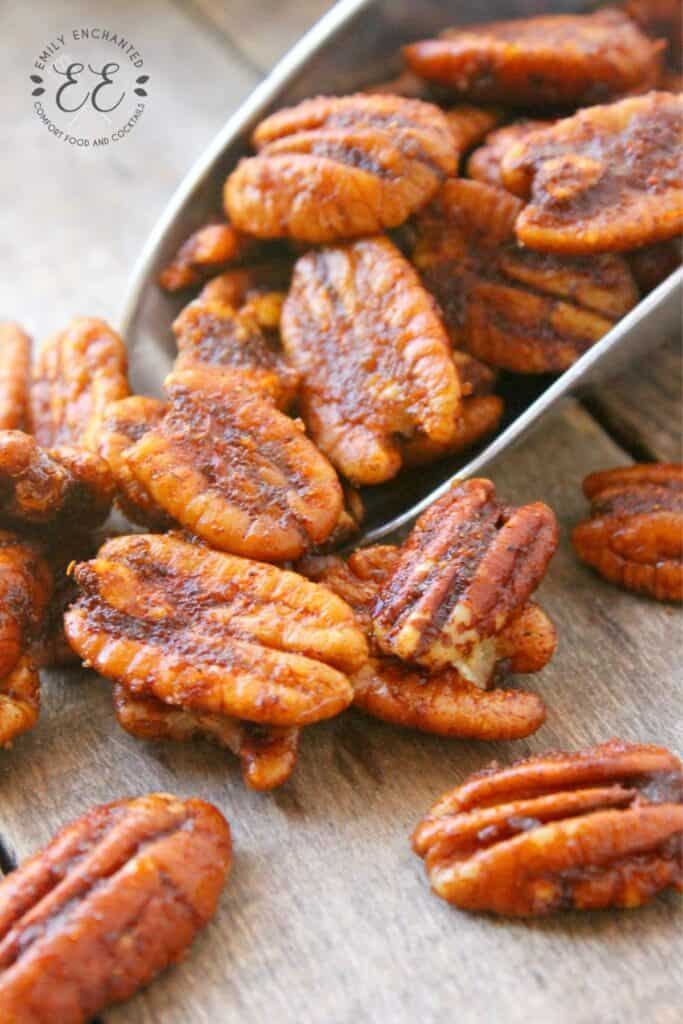 Oven Roasted Pecans Recipe