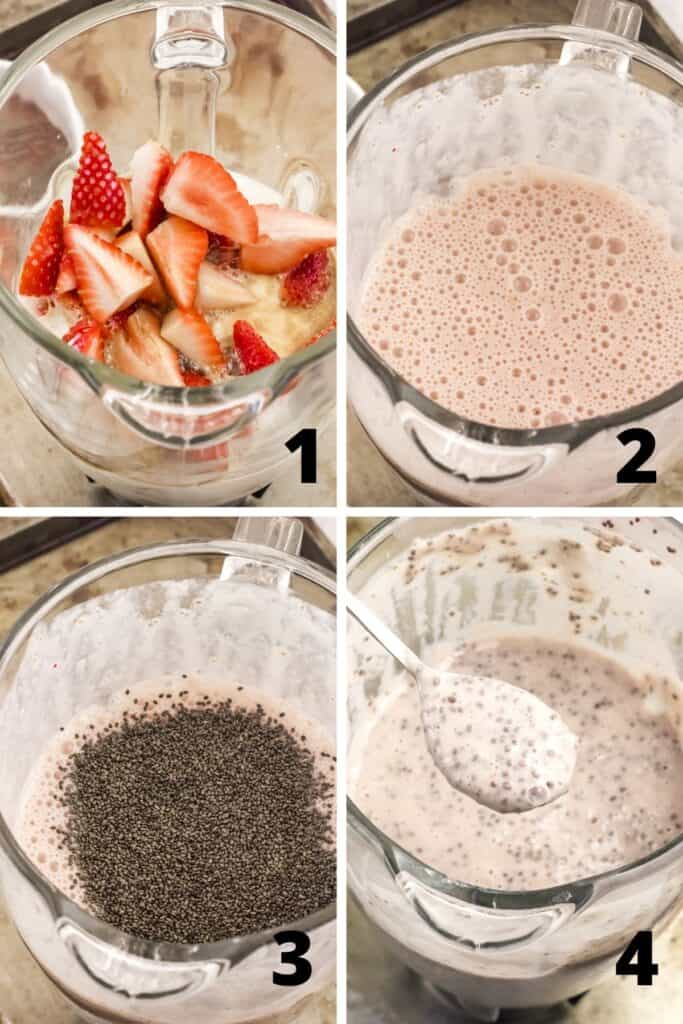 How to Make Strawberry Pudding