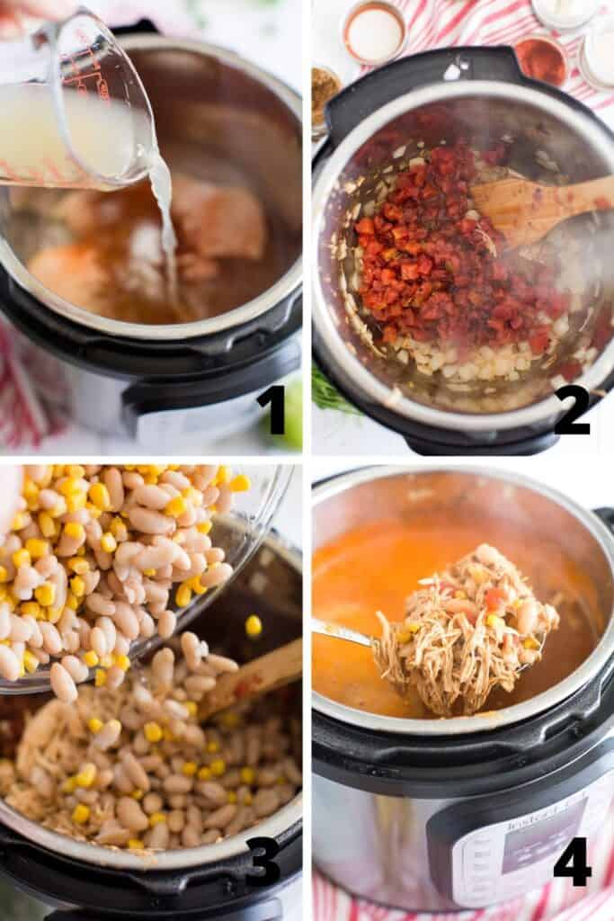 How to Make Chicken Tortilla Soup in an Instant Pot