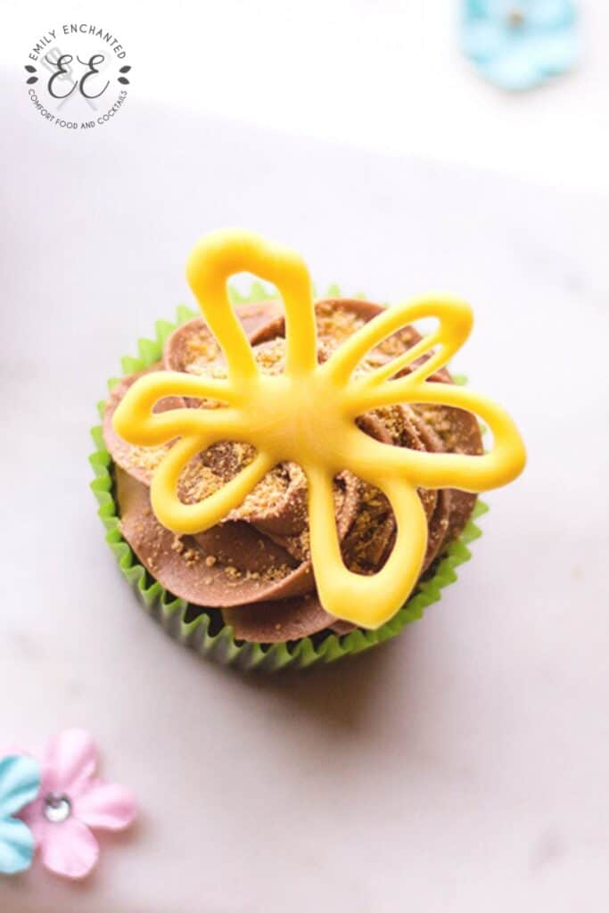 Mini Spring Flower Cupcakes Recipe
