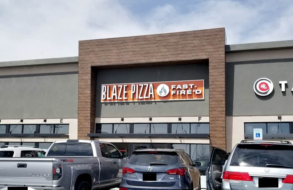 Blaze Pizza in Albuquerque, New Mexico