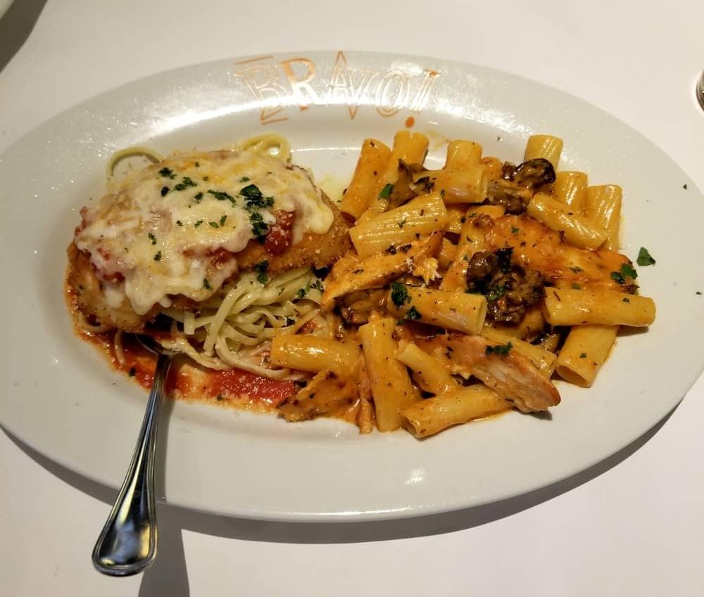 Chicken Parmesan and Pasta BRAVO | Bravo Cucina Italiana