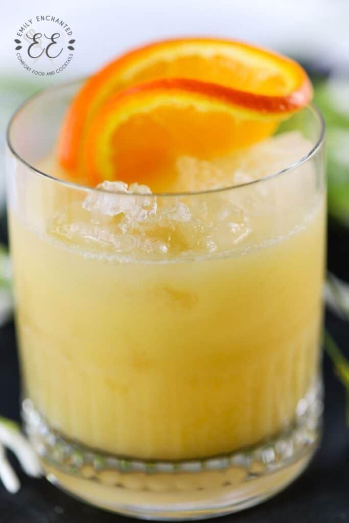 Amaretto and Coconut Rum Cocktail