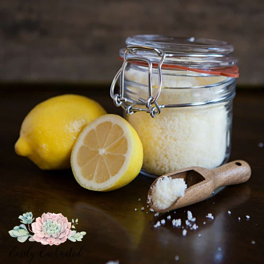 DIY Lemongrass Sugar Scrub