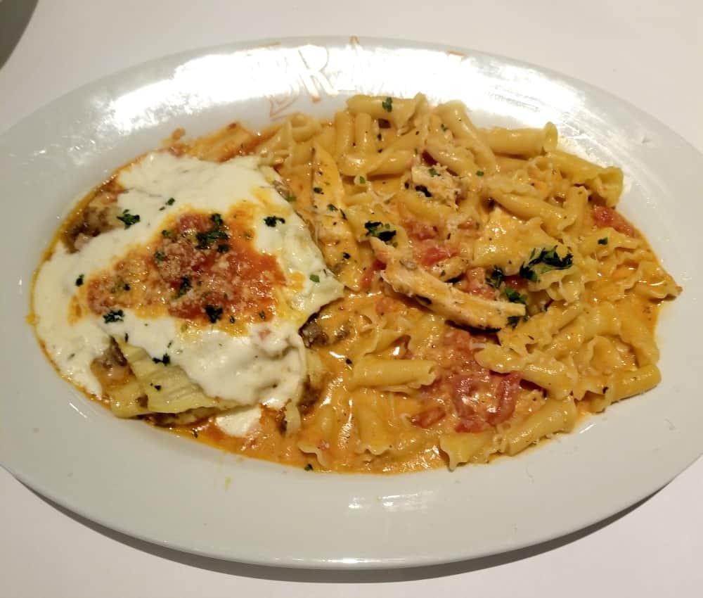 Mama's Lasagna Bolognese and Shrimp FraDiavolo   Bravo Cucina Italiana