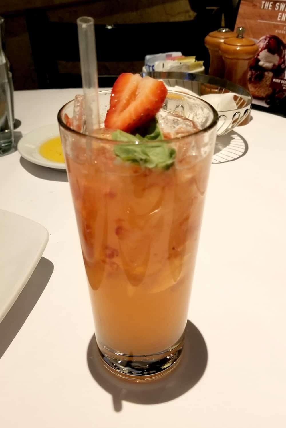 Strawberry Basil Smash | Bravo Cucina Italiana