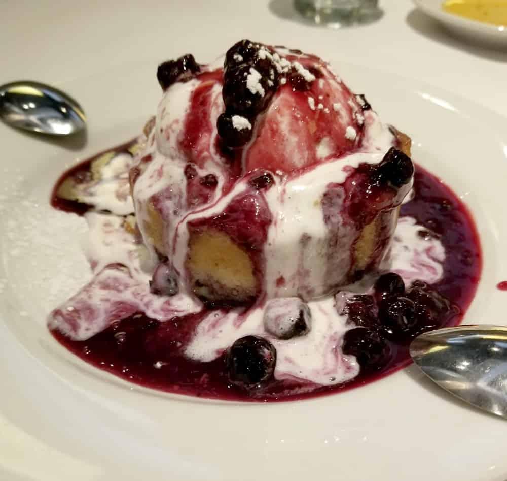 Warm Berry Cake | Bravo Cucina Italiana