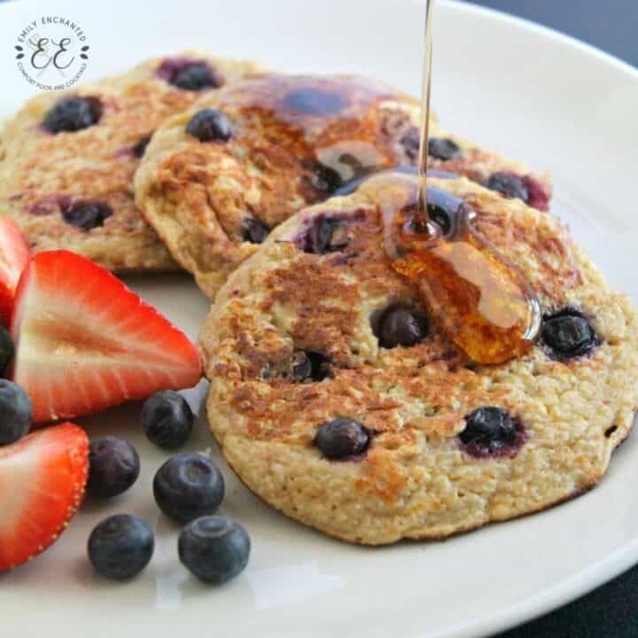 One Point Weight Watchers Blueberry Pancakes