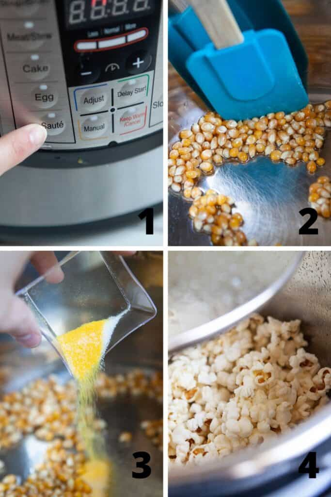 How to Make Popcorn in Instant Pot