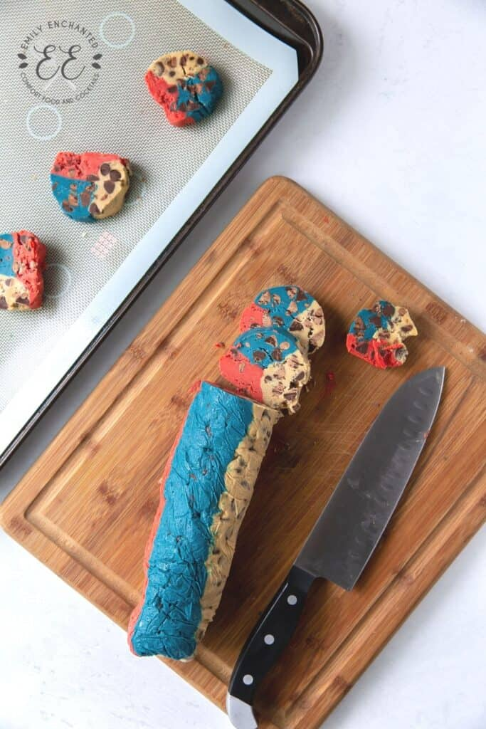 Fourth of July Ice Cream Sandwiches