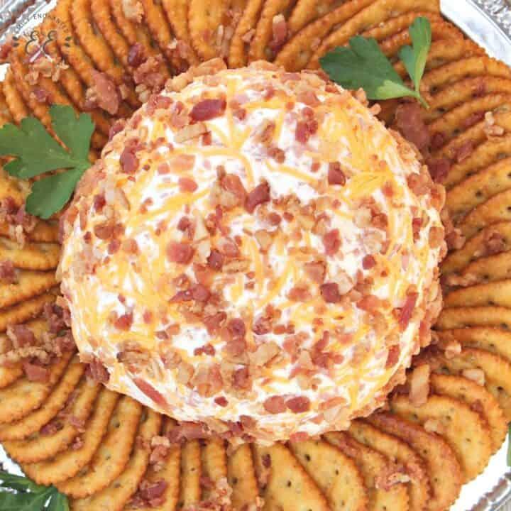 Easy Bacon Cheese Ball Appetizer Recipe