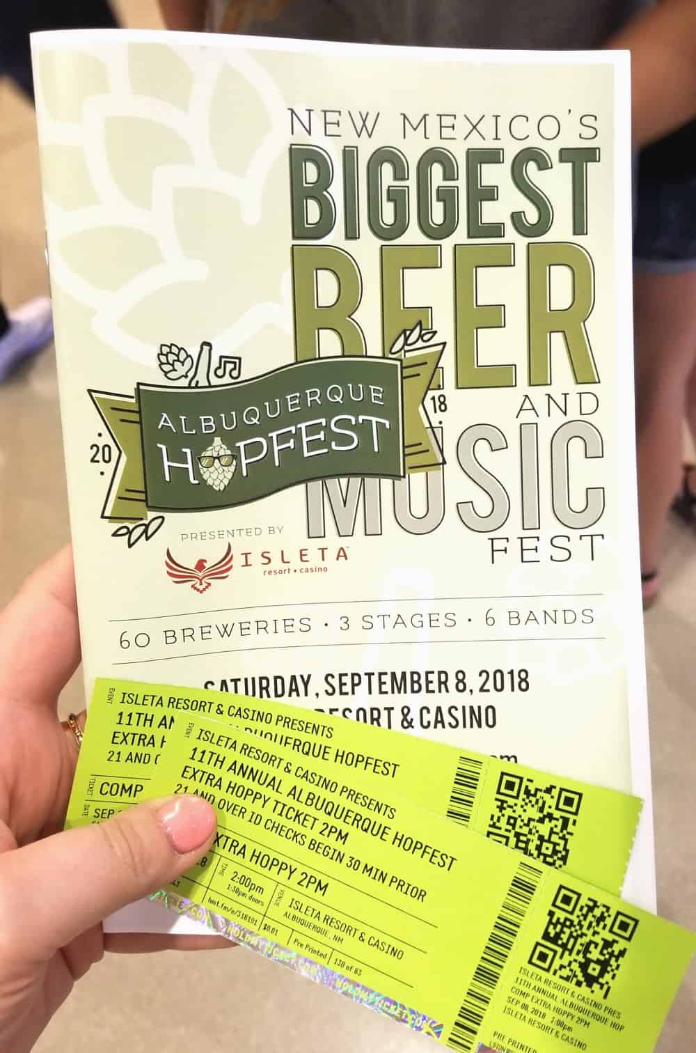 Albuquerque Hopfest Beer Festival in New Mexico