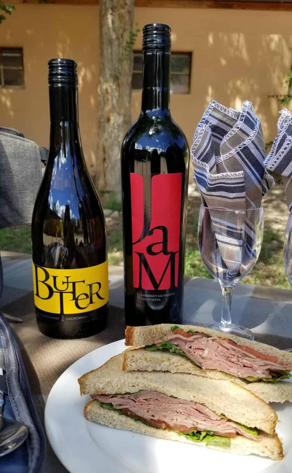JaM Cellars Wine, JaM Cabernet, Butter Chardonnay