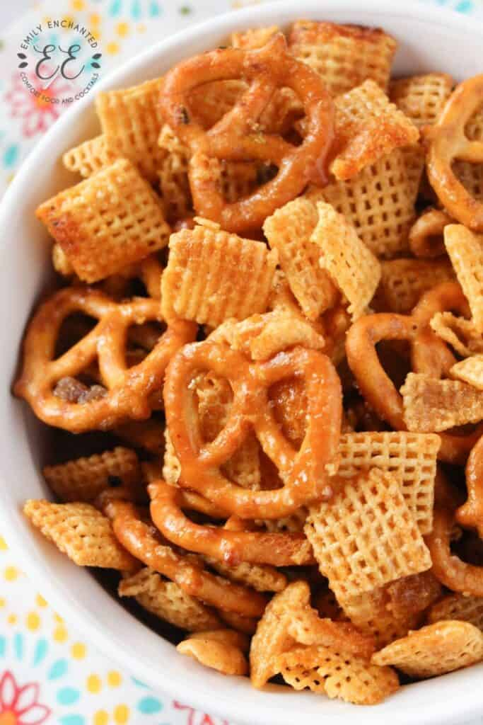 Hot and Spicy Buffalo Chex Mix Recipe