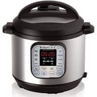 Instant Pot 7-in-1 Programmable Pressure Cooker, 6qt/1000W