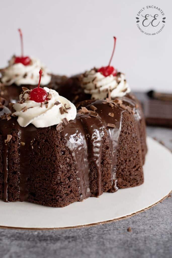 Black Forest Bundt Cake Recipe