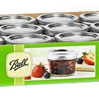 Ball Mason 4oz Jars with Lids, Set of 12