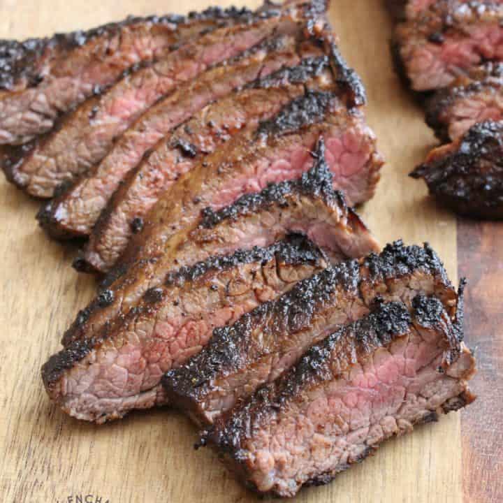 Hawaiian Coffee BBQ Flank Steak