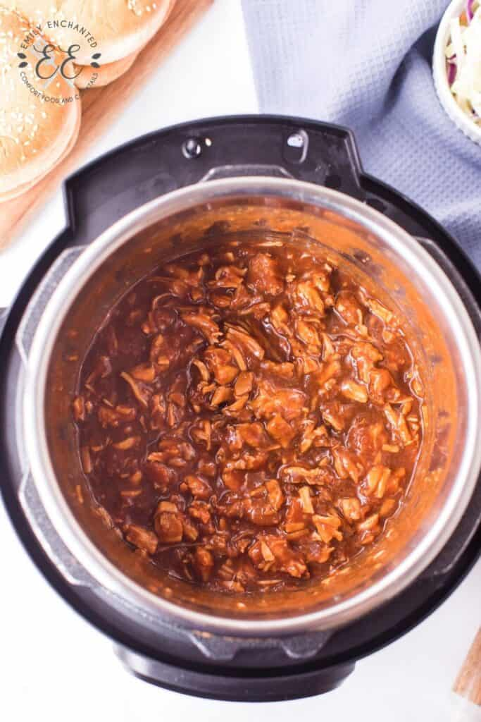 Instant Pot Barbecue Chicken Recipe