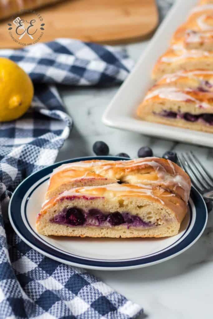 Lemon Blueberry Pastry