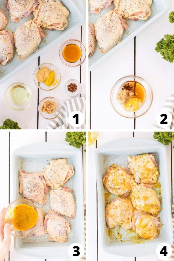 Baked Juicy Chicken Thighs Recipe