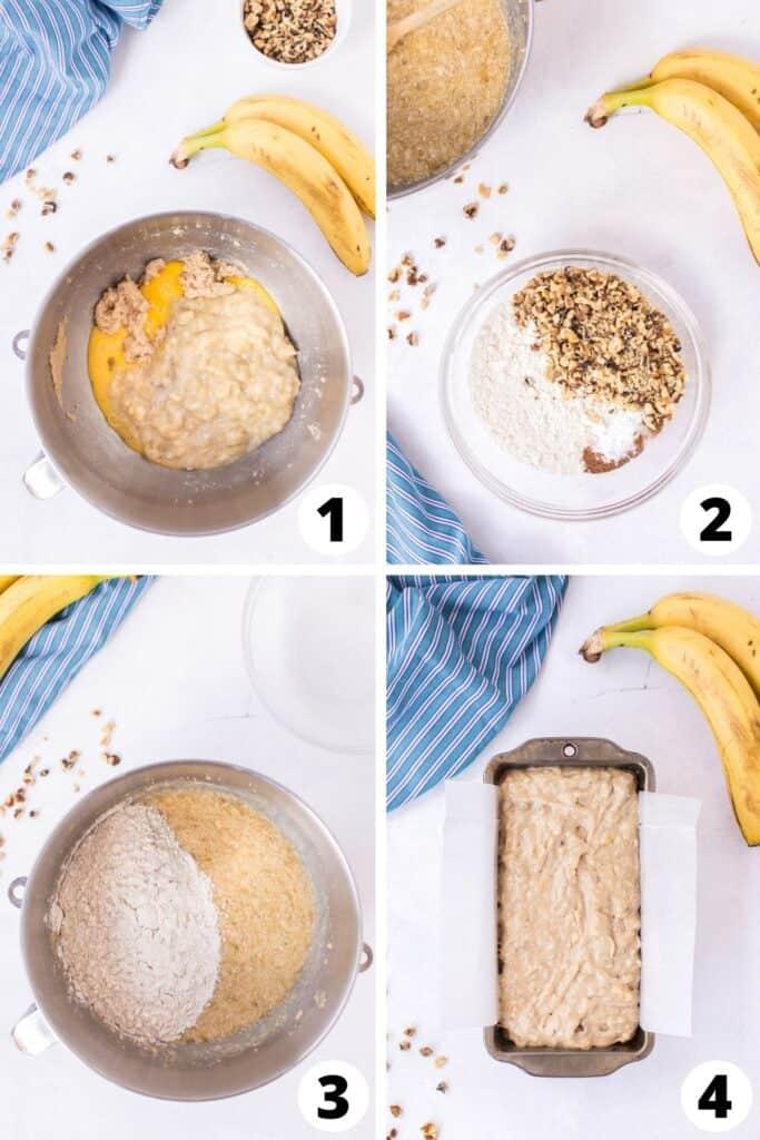 Banana Bread Recipe with Walnuts