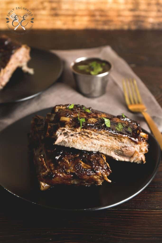 Instant Pot BBQ Ribs with Homemade BBQ Sauce