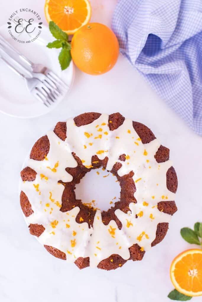 Orange Bundt Cake Recipe (Orange Soda Pop Cake)