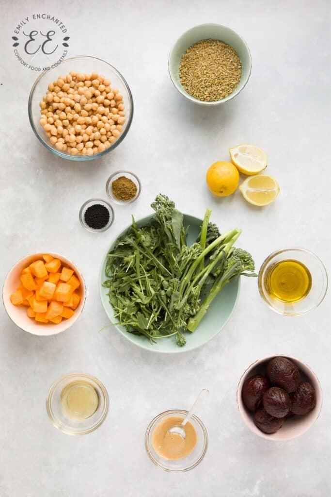 Vegan Grain Bowl Recipe