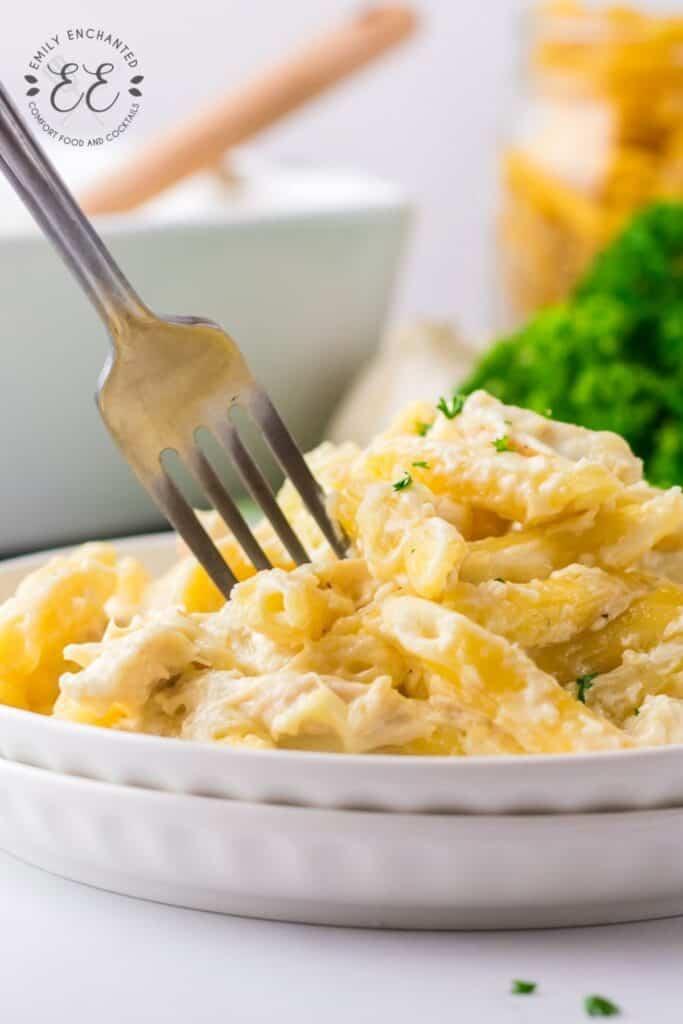 Chicken Alfredo Pasta Bake Recipe