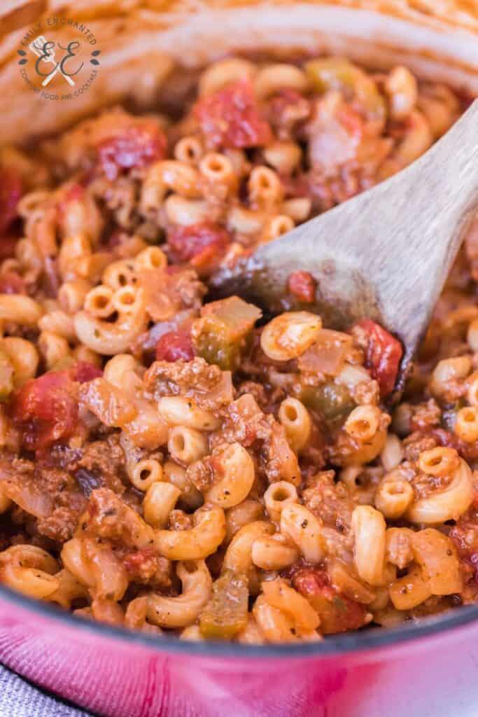 Beef and Macaroni Pasta Recipe