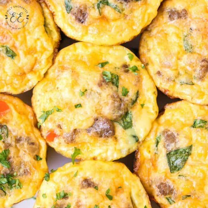 Breakfast Egg Muffins with Sausage