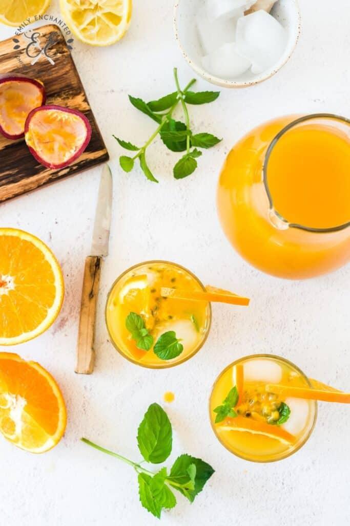 Passion Fruit Cocktail Recipe