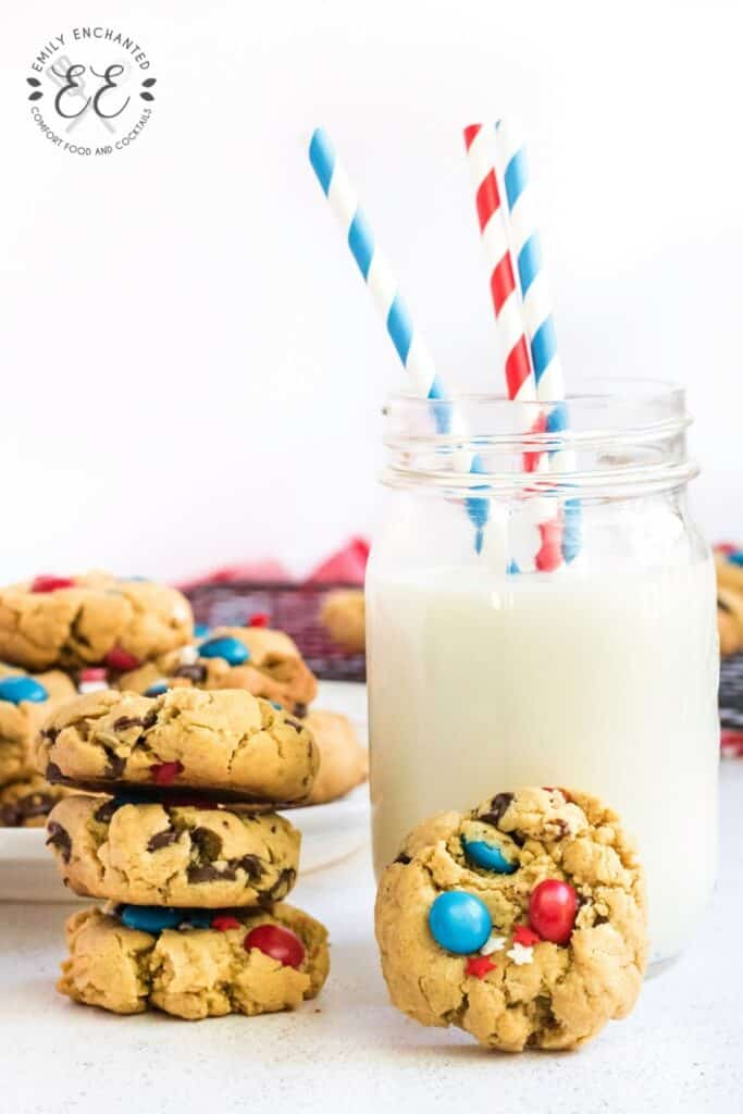 Red White and Blue Cookies