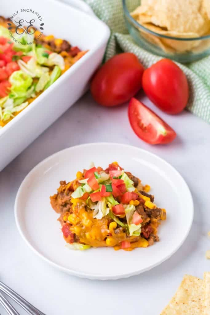 Taco Casserole Mexican Dinner