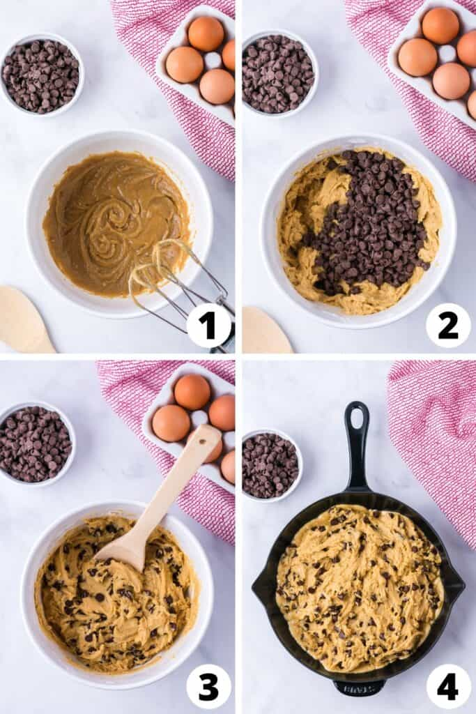 How to Make a Cookie in a Skillet
