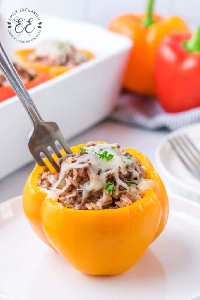 Stuffed Bell Peppers with Beef