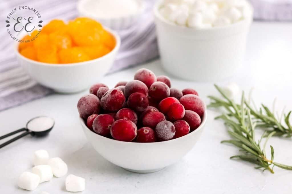 Cranberry Fluff Ingredients