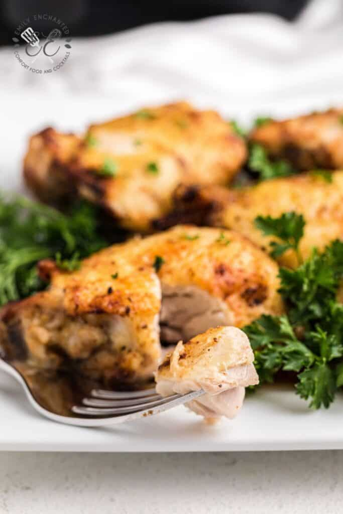 Air Fried Chicken Thighs