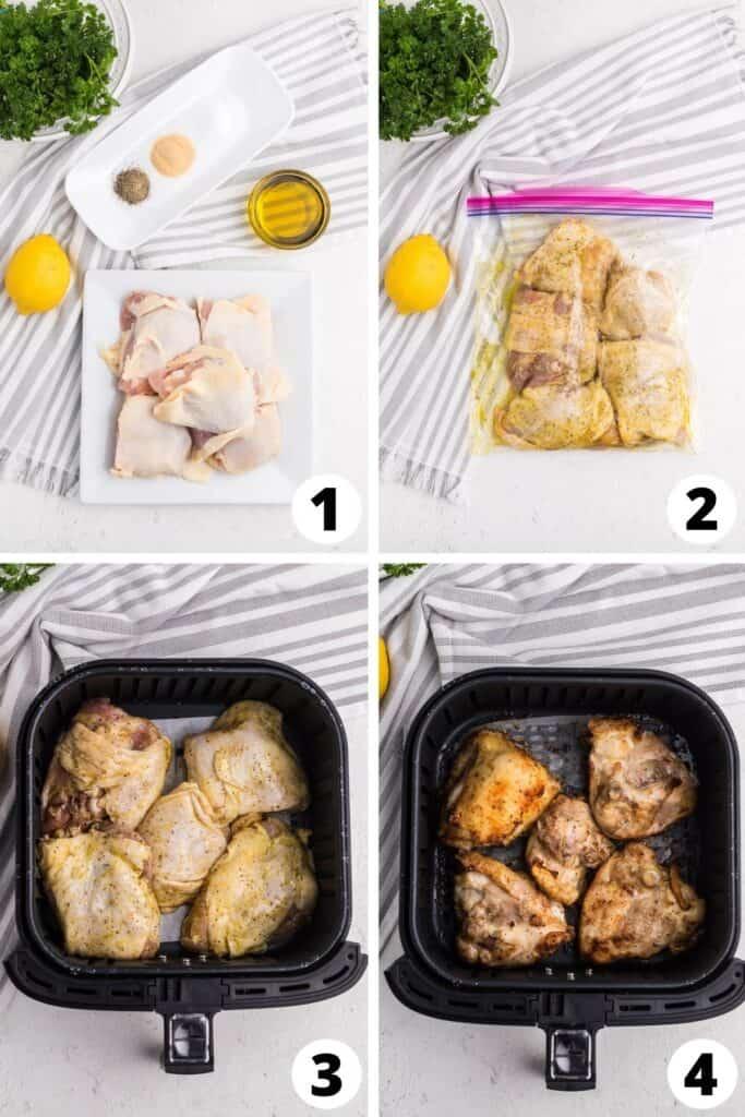 Chicken Thighs in an Air Fryer